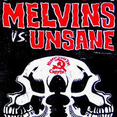 "Melvins vs. Unsane ""Cage Match Tour"" 2012 Poster"