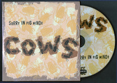 "COWS: ""Sorry in Pig Minor"" CD (2019 reissue)"