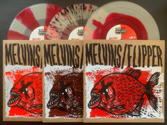 "MELVINS/FLIPPER: HOT FISH -10"" EP *ALL 3 EDITIONS + CD SET*"