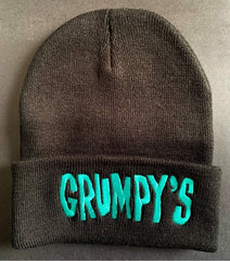 Grumpy's Bar Beanie *TEAL BLUE*
