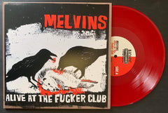 "Melvins: Alive at the Fucker Club 10"" Reissue- *Factory Edition (Roadkill Red)*"