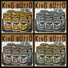 "KING BUZZO: Six Pack 12"" *FULL SET OF ALL 4 EDITIONS*"