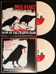 "Melvins: Alive at the Fucker Club 10"" Reissue- *Factory Edition (Bone)*"