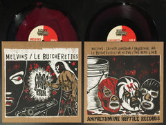 "Melvins/Le Butcherettes: ""Chaos As Usual"" split 10"" EP"