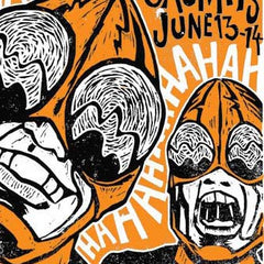 Melvins June 13th-14th 2011 Show Poster