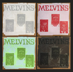 Melvins: Honky Reissue- Set of all 4 variants w/matching edition #s.