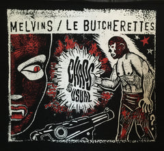 "Melvins/Le Butcherettes ""Chaos As Usual"" T-shirt + CD"