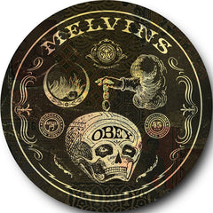 "Melvins/Hammerhead-Post Moral Neanderthal Retardist Pornography 7"" picture disc (Shepard Fairey version)"