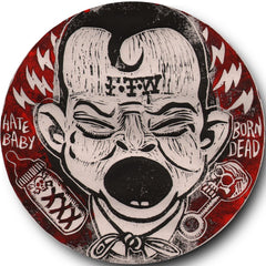 "Melvins/Hammerhead-Post Moral Neanderthal Retardist Pornography 7"" picture disc (Haze-XXL version)"