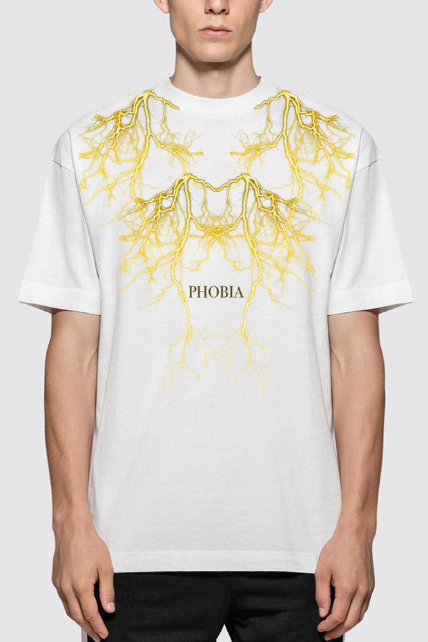 Tshirt Yellow Lighting Phobia - Concept Store.
