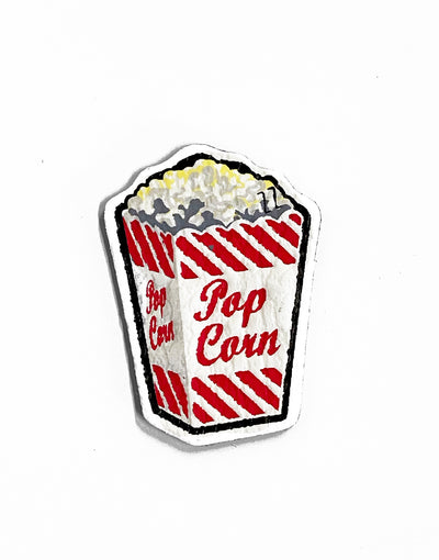 Pop Corn Sticker Adesivo in Rilievo 3D - Concept Store.