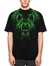 Tshirt Green Lighting Phobia - Concept Store.