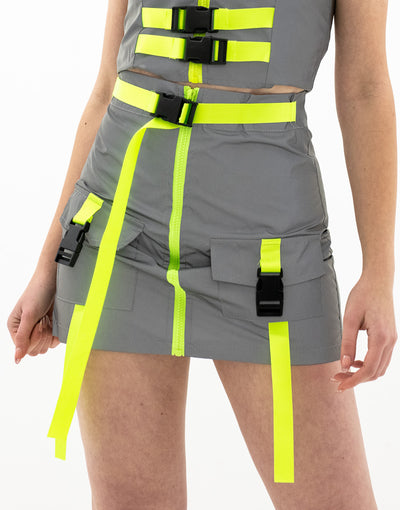 Gonna Belt Reflective Fluo - Concept Store.