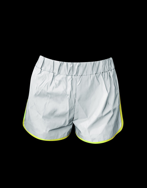 Shorts Donna Reflective Fluo - Concept Store.