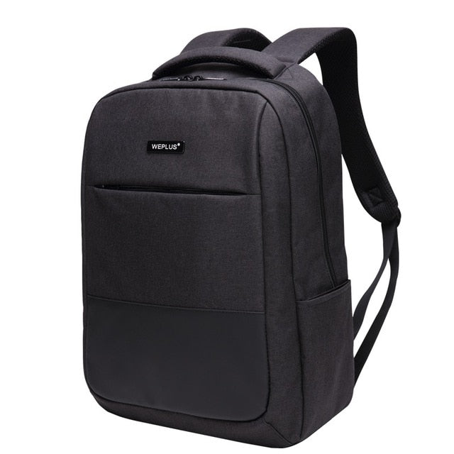 0f13f9ecdc1a WEPLUS Backpack 15.6 inch Laptop Backpack USB Charging Casual Style  Waterproof Bag Men Women Anti Thief ...