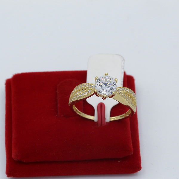 Gold Engagement Ring - 01CG11