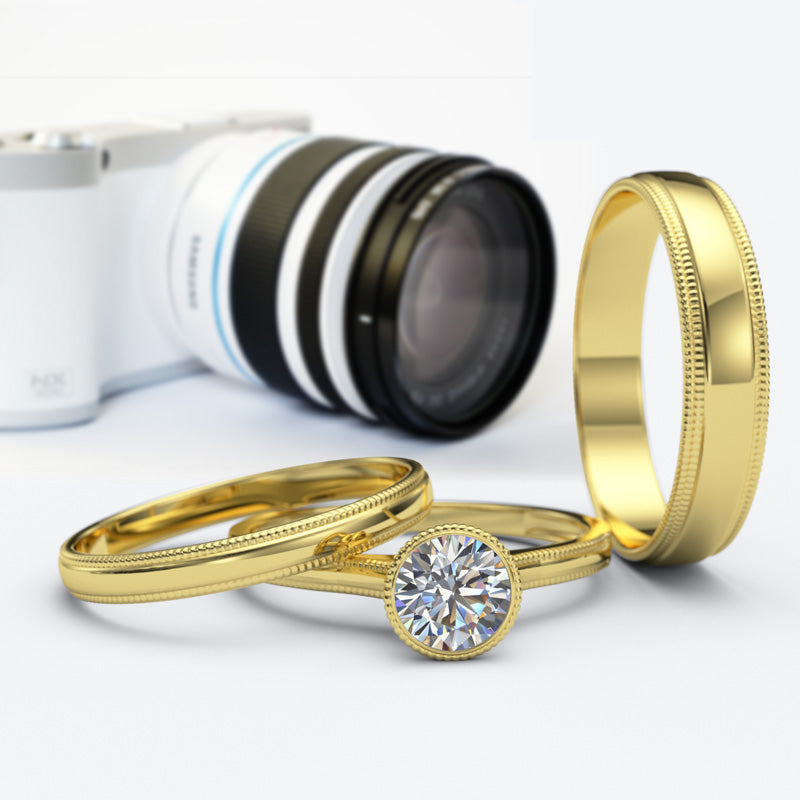 Zara Collection - Complete Gold Wedding Set - 01BS04