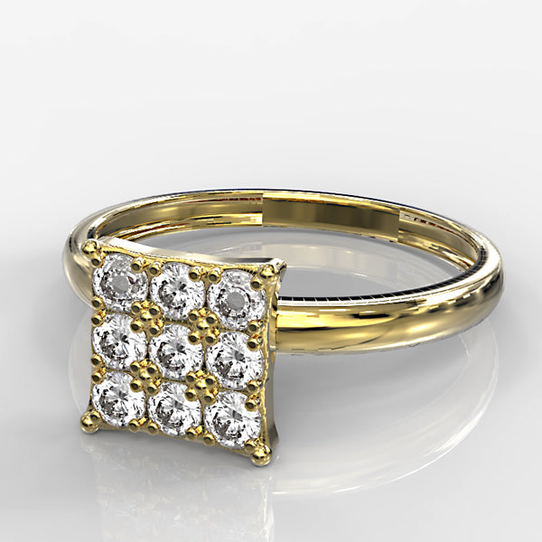 Zara Collection - Gold Engagement Ring - 01BS13