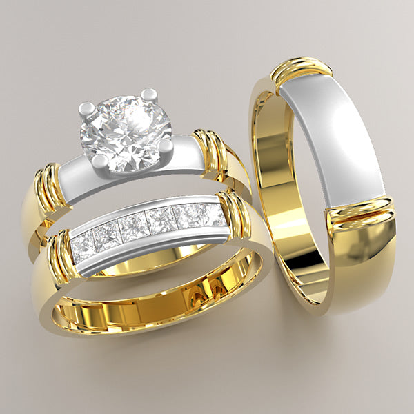 Zara Collection - Complete Gold Wedding Set - 01BS19