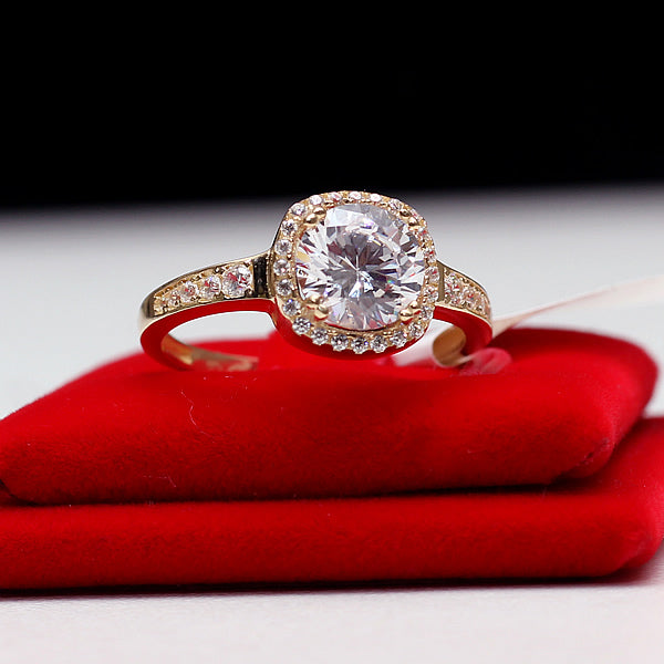 Gold Engagement Ring - 01CG04