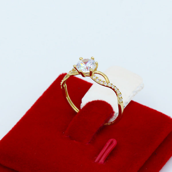 Gold Engagement Ring - 01CG09