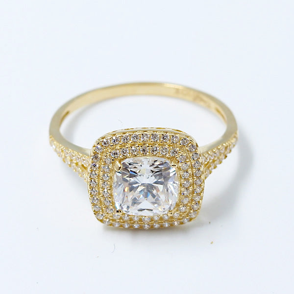 Gold Engagement Ring - 01CG10