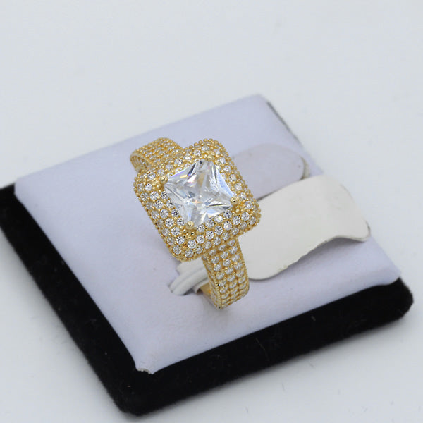 Gold Engagement Ring - 01CG19