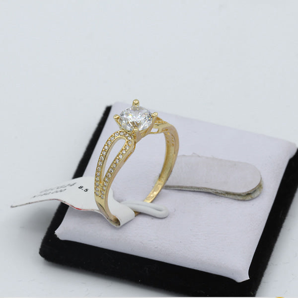 Gold Engagement Ring - 01CG24