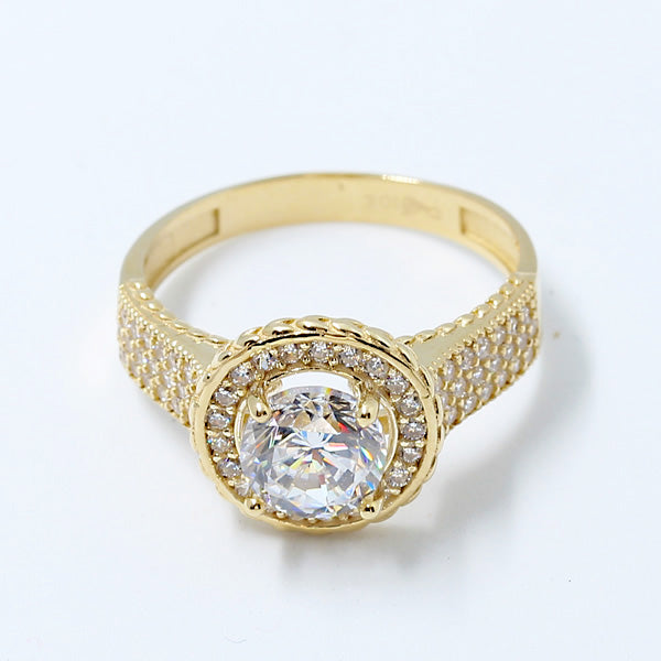 Gold Engagement Ring - 01CG32