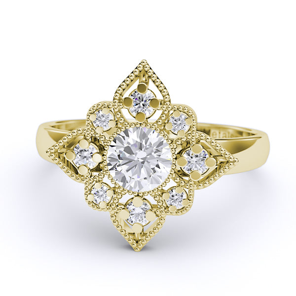 Gold Engagement/Fashion Ring - 01DG60
