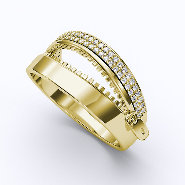 Gold Fashion Ring - 01DG65