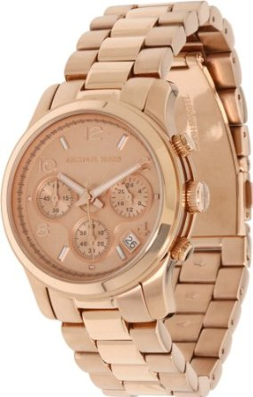 Michael Kors Rose Gold Runway Watch - 01MK02
