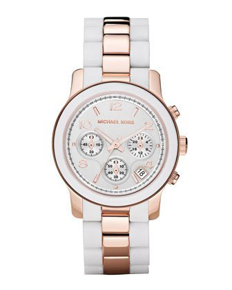 Michael Kors Women's MK5464 Runway White Watch - 01MK08