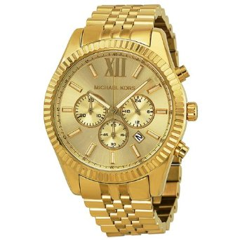 Michael Kors Watches Lexington (Gold) - 01MK10