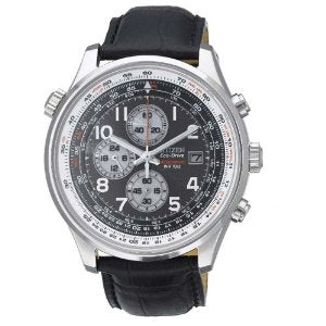 Citizen Eco Drive Black Dial Men's Watch - 01RW05