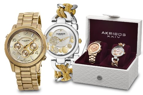 Akribos Watch Set - 01RW27