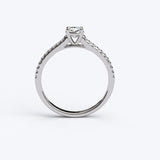 Solitaire Gold Engagement Ring with 0.5ct Diamonds - 01SG01