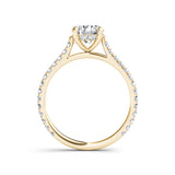 1.42ct Brilliant Diamond Solitaire Gold Engagement Ring  - 01US04