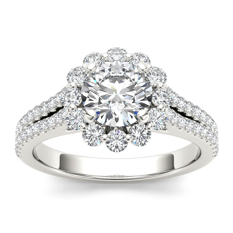1.82ct Brilliant Cut Diamond Engagement Ring - 01US07U