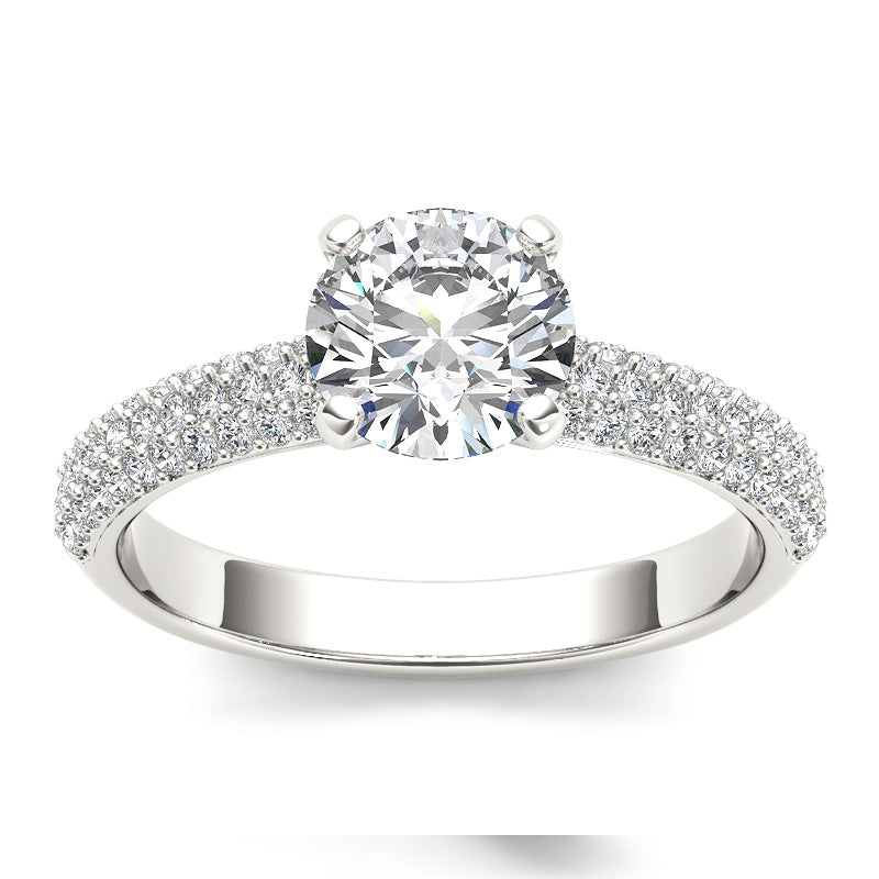 1.38ct Brilliant Cut Diamond Solitaire Gold Engagement Ring  - 01US12