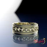 0.36ct Diamond Gold Wedding band - 01US85V