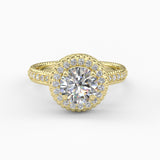 Varitsa Collection - 1.57ct Certified Diamond Engagement Ring - 01VR01