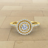 Varitsa Collection - 0.74ct Certified Diamond Engagement Ring - 01VR04