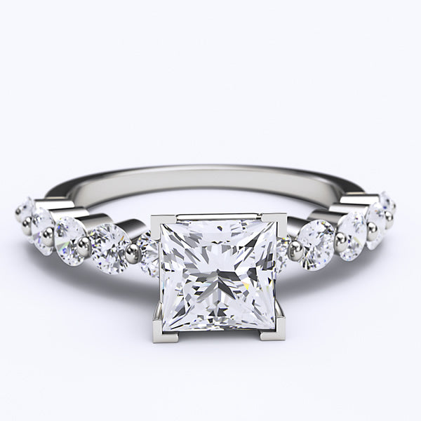 2.37ct GIA Certified Diamond Engagement Ring - 01VR07