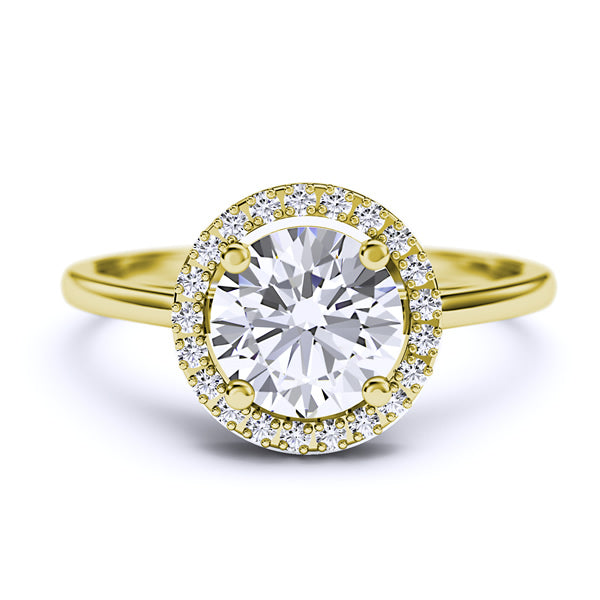1.11ct Natural Diamond Engagement Ring - 01VR09