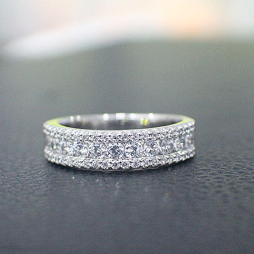 Sterling Silver Wedding Band - 02AS10