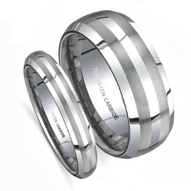Matching Wedding Band Set - 02BB15