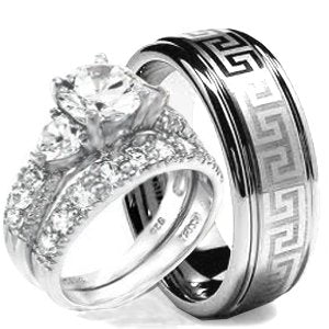 Wedding Ring set - 02BB17