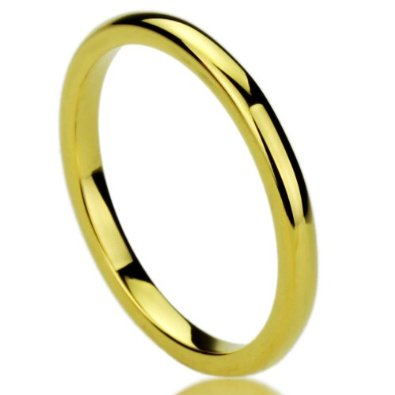 2MM Tungsten Carbide Comfort Fit Wedding Band - 02BB21