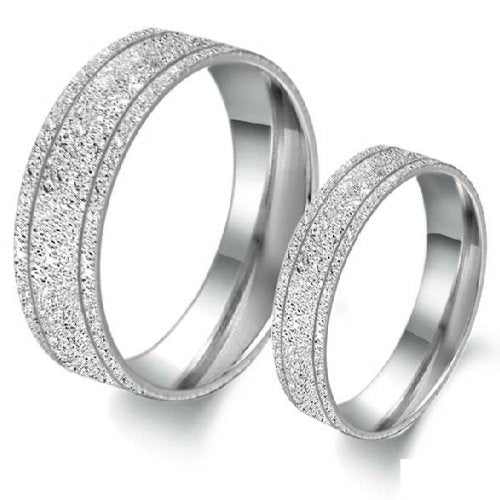 Titanium Steel Rings - 02BB30